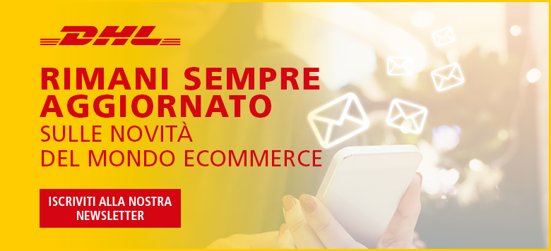 iscrizione newsletter DHL Express